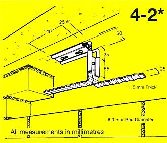 Head Restraint Tie 4-4